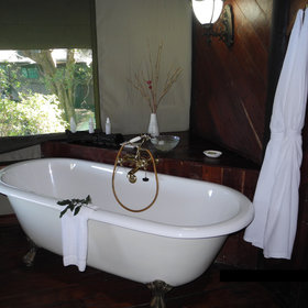 … a claw-footed bath-tub…