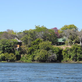 The River Club is located on the Zambezi, just 45 minutes drive from the Victoria Falls…