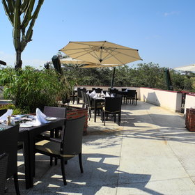 Twice a week barbecues are served outside on the barbecue terrace.