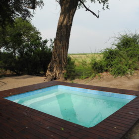 ...and a plunge pool offers respite during the heat of the day.
