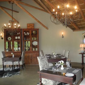 ...the dining area,...