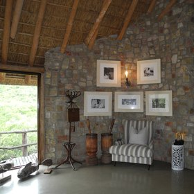 Great Fish River Lodge is characterised by a unique interior design...