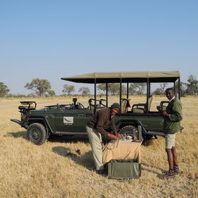...and game drives on the islands.