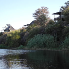 Leroo La Tau is situated on the western bank of the Boteti River...
