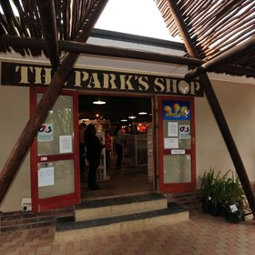 At Addo Main Camp's shop…