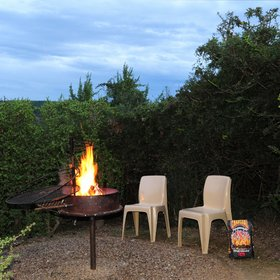 …all with access to a braai area…