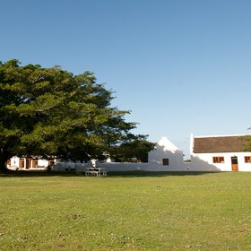 The Opstal is the only accommodation in South Africa's De Hoop Nature Reserve.