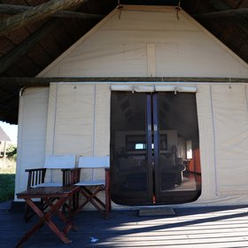 It consists of 11 luxurious thatched tents,…