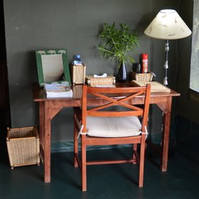 … a writing desk…