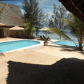 There are two swimming pools in the main area of Sunshine Marine Lodge.