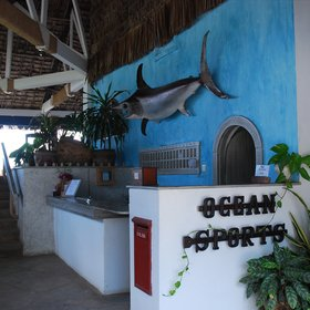 Ocean Sports is a relaxed beach hotel in Kenya, ideal for families and young couples.