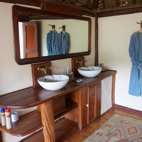 …and the ensuite is lovely with organic African products provided.