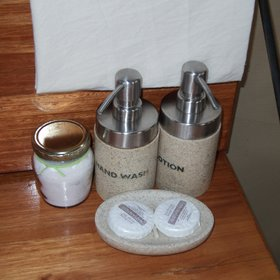 ...and some basic toiletries.