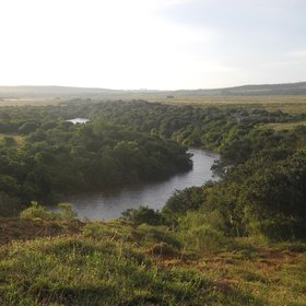…overlooking the Bushmans River.