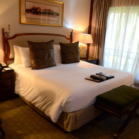 The rooms have either a king, queen or two twin beds…