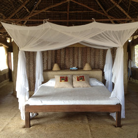 The beds at Kizingo…