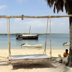 Manda Bay is Kenya's most luxurious desert island hideaway.
