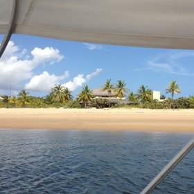 Arriving at Kipungani Explorer there's a good deal of wow factor to the setting…