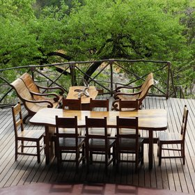Meals can be taken either inside or outside at Tongole…