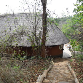 It has only four spacious chalets overlooking the Bua River.