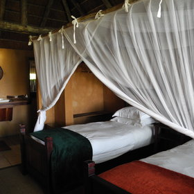 Nxamaseri Lodge is a delightful island getaway in a shallow water Okavango Delta environment...