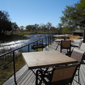 ...allowing for river views and game spotting.