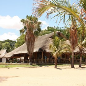 Makokola Retreat sits on a long golden beach, on the southern shore of Lake Malawi.