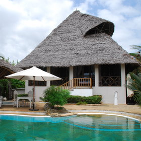 Each private villa is comfortable, and its design characteristic of the Kenyan coast...