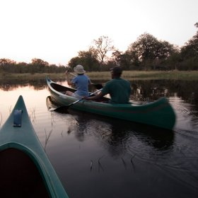 Motswiri Camp offers many water-based activities ...