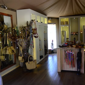 ...or visit the smart curio shop, with high-quality products available.
