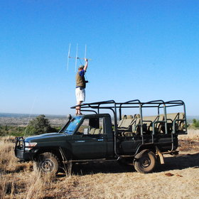 …to the thrill of driving out with radio-tracking equipment…