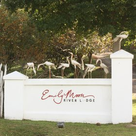 Emily Moon River Lodge is located 5km north of Plettenberg Bay ion the scenic Garden Route.
