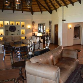 Chobe Chilwero has a luxurious country house feel...