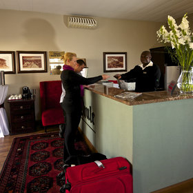 Upon your arrival you will be greeted by the friendly staff at the reception.