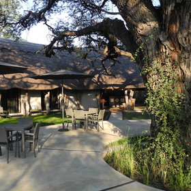 Camelthorn is situated on the southeast edge of Hwange National Park in a private consession