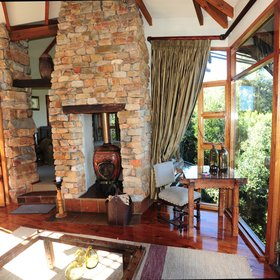 The suites have large windows making the most of the treetop views.