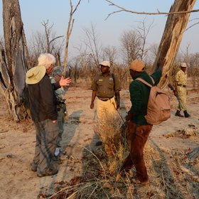 The activities are led by experiences Zambian guides ...