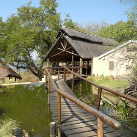 Kasaka River Lodge is a simple but comfortable base for your safari.