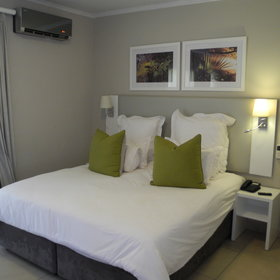 Inside however guests can expect modern, refurbished rooms containing double or twin beds...
