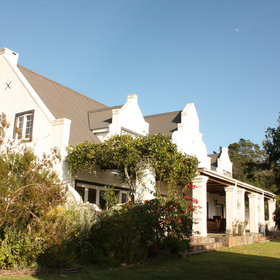 Fynbos Ridge is built around a Cape Dutch style manor house.
