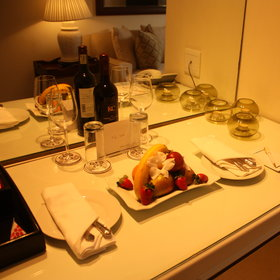 All rooms offer a complimentary fruit platter and bottle of wine on arrival...