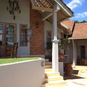 The lodge is a stylish, contemporary choice for a dayroom or overnight in the Arusha area.