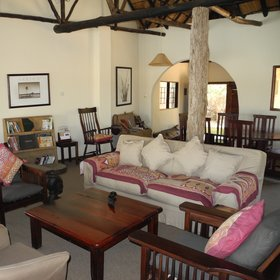 The accommodation consists of a large lounge with plenty of comfortable furniture...