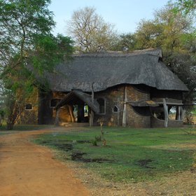 Luangwa Safari House is a stand alone property not far from the Luangwa River.