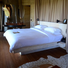 Inside the rooms are spacious with comfortable king-sized beds,