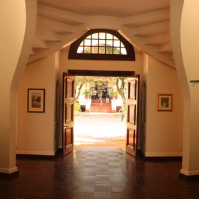 Victoria Falls Hotel has 161 rooms and suites...