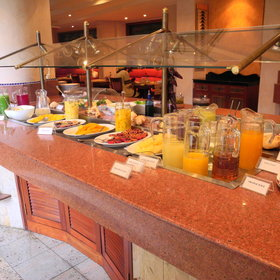 ...and the large buffet breakfast...