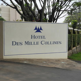 Hotel des Mille Collines is located in the central business district…