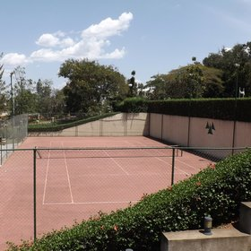 ...and a tennis court to be more active.