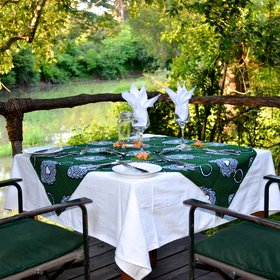 A private 'khonde' dinner can be arranged on your deck for special occasions or...